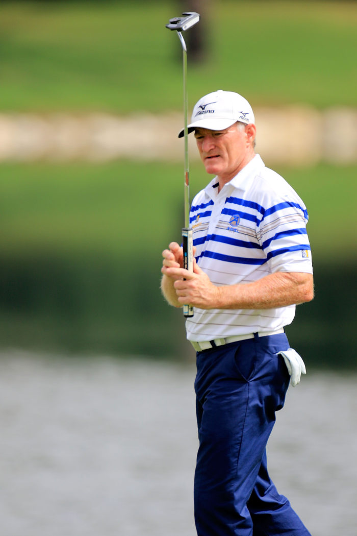 Sharjah Senior Golf Masters - Day One