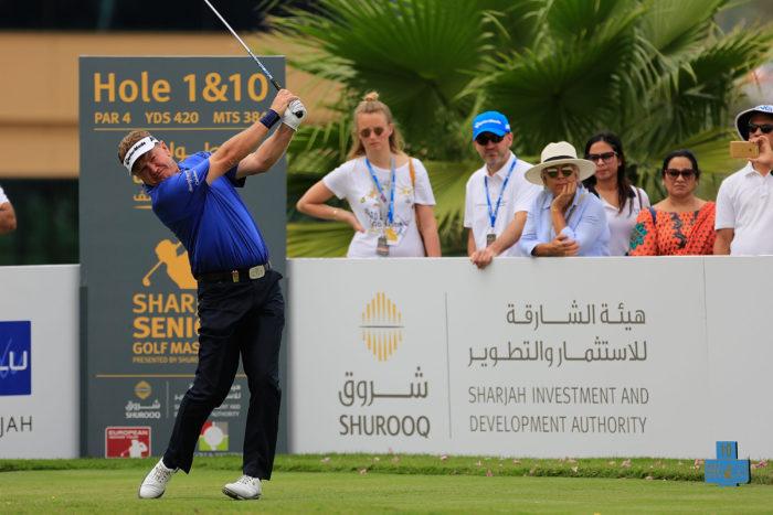 Sharjah Senior Golf Masters - Day Two